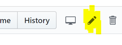 Edit Button on Github.